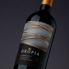 Alcohol Packaging Dropia on Packaging of the World - Creative Package Design Gallery