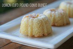Lemon Curd Pound Cake Bundt