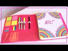 DIY- DECORA Y ORGANIZA TU CARPETA♡ REGRESO A CLASES!!-ILSE GOMEZ - YouTube