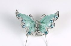 Dreamy Butterfly - Silky Hair Clip / Claw for Girls and Woman >>> You can get more details by clicking on the image.