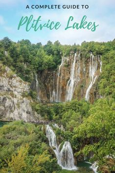 The beautiful nature of Plitvice Lakes National Park makes it a destination that should be included on any Croatia itinerary. Exploring the park is a highlight Voyage Europe, Europe Travel Guide, Travel Destinations, Travel Guides, Travel Route, Travel Hacks, Croatia Itinerary, Croatia Travel, National Parks
