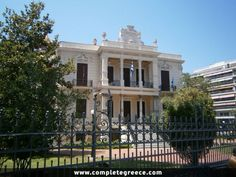 The Villa Mordoh was built by the architect Xenophon Paionidis in 1905 for the Turk commander Seifoulah Pasha. In 1923 was sold to the Shalom brothers and then to the Mordoh family and was inhabited until (EN) Crete Greece, Thessaloniki, Neoclassical, Macedonia, Greece Travel, Uber, Villas, Greek, Places To Visit