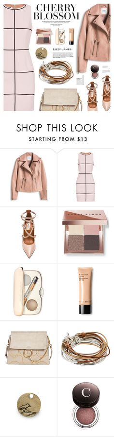 """LIZZY JAMES"" by defivirda on Polyvore featuring Moschino Cheap & Chic, Valentino, Bobbi Brown Cosmetics, Jane Iredale, Chloé, Lizzy James and Chantecaille"