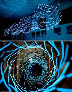 Bright Lights, Big City: 15 (More!) Light Art Installations paul klotz
