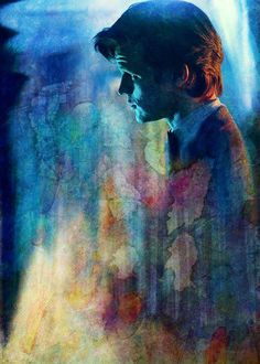 a madman in a blue box - doctor who matt smith