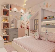 Nice Quartinho 😍😍 Regrann the bigger good project .- Schönes Quartinho 😍😍 Regrann das größere gute Projekt Nice Quartinho 😍😍 Regrann the bigger good … - Kids Bedroom Designs, Bedroom Decor For Teen Girls, Cute Bedroom Ideas, Room Ideas Bedroom, Small Room Bedroom, Kids Room Design, Baby Bedroom, Baby Room Decor, Bedroom Sets