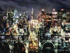 + Arte :     Bom dia!  Vamos começar o dia, inspirado nos trabalhos de Stefano Popovski.