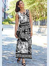 Bohemian Knit Maxi Dress | Blair