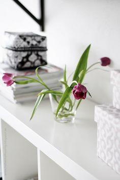 Via Helt Enkelt | White and Tulips