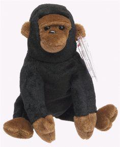 858d71a4fe8 TY Beanie Baby - CONGO the Gorilla Ty Beanie