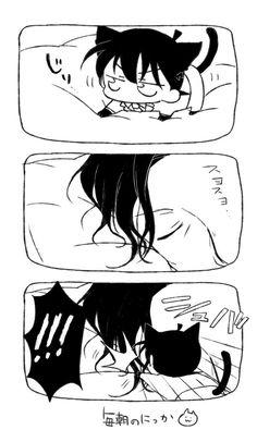 ト ン (@hakumai_ton) さんの漫画 | 11作目 | ツイコミ(仮) Magic Kaito, Case Closed, Slayer Anime, Conan, Detective, Erotic, Batman, Manga, Superhero