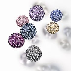 Create fabulous jewellery with our Swarovski®️ Crystal Pave Balls. Available in many sizes and colours, full or half hole, in retail & wholesale packs.