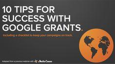 10 tips google-grants
