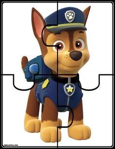 Paw Patrol Puzzles - Also numbered strip ones. Paw Patrol Games, Paw Patrol Party, Paw Patrol Birthday, Puzzles For Toddlers, Games For Toddlers, Preschool Activities, Free Printable Puzzles, Preschool Printables, Paw Patrol Wall Decals