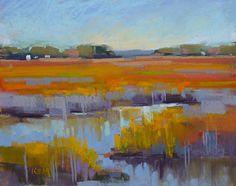 Landscape Painting South Carolina by KarenMargulisFineArt on Etsy, $125.00
