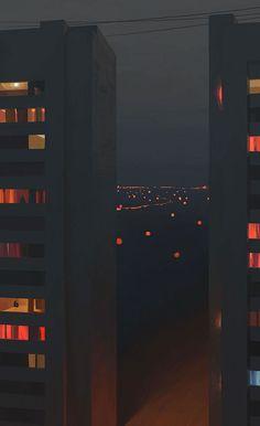 Иллюстрации с особой атмосферой от Андрея Сурнова