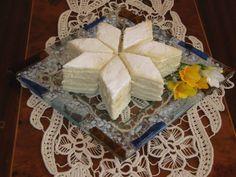 "Prajitura ""Alba -ca-Zapada"" Romanian Food, Dessert Recipes, Desserts, Tailgate Desserts, Deserts, Postres, Dessert, Desert Recipes, Pastries Recipes"
