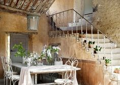 Provence alfresco dining