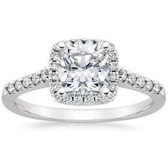 The Sonora Halo Diamond Ring #BrilliantEarth