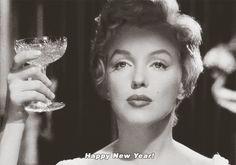 Happy New Year! (Marilyn Monroe)