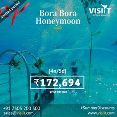 Honeymoon Tour Packages, Travel Deals, Bora Bora, Holiday Fun, Places To Visit, Tours, Explore, Google, Exploring