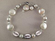Stunning Sterling Silver Swarovski Crystal by KrisTsCreations, $60.00