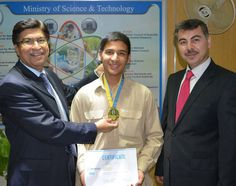 15 year old Pakistani Waleed Bashir Hailing from Khuzdar Balochistan, bagged the Grand Winner position, along with a gold medal, at the International Infomatrix Asia Computer Competition, held between April 18 and 21 2013 in Almaty, Kazakhstan. Waleed designed an automation system that illustrates how to control a greenhouse with only a computer and an internet connection