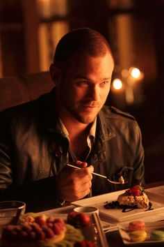Aaron Ashmore as the other Guryev twin, Andrei