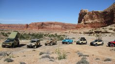 Rather than just ooh and aah at Jeep's Easter Safari concepts, we put them through their paces off-road in Moab, Utah.