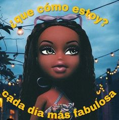 Daddy Aesthetic, Bad Girl Aesthetic, Quote Aesthetic, Black Bratz Doll, Bratz Doll Makeup, Barbie Dream, Thoughts And Feelings, Cartoon Wallpaper, Queen Quotes