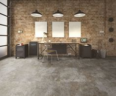 Expona Commercial luxury vinyl tile flooring - Fossil Stone