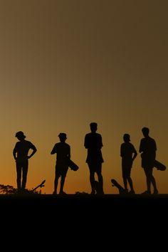 Skateboarding #silhouette