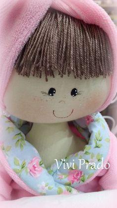Linda boneca porta rolo de papel higiênico Vivi Prado