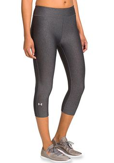 Under Armour® Women's HeatGear Alpha Capri is a great addition to your workout wardrobe.