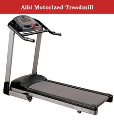 Aibi Motorized Treadmill. 1.75 hp continuous duty dc motor power incline up to 10% speed up to 16 km/h 4 incline programs, 4 speed programs, body fat program and 1 manual program one touch speed bar one touch membrance 3 through 9 km/h in 2 km/h increments one touch incline bar, one touch membrance 3 through 9% grade in 2% increments toggles speed & incline in handlebars allows quick speed and incline changes while on the run generous running deck 130 cm x 43 cm (cushion deck) 5 windows...