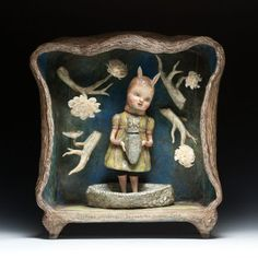 "Deborah Rogers ""Strange Offerings: Beyond the Garden Gate"" Sculpture"