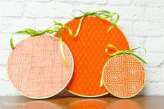 easy to make pumpkin hoops