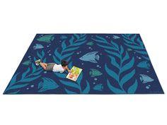Natural Accents Ocean Classroom Carpet   9u0027 X ...