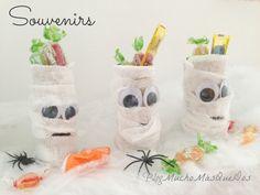 Mucho Más Que Dos: 3 Ideas DIY. Halloween. Momias