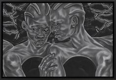To See and to Know; Future Lovers: Toyin Ojih Odutola Outlaw Star, Hirshhorn Museum, History Taking, Black Figure, Storyboard Artist, Mirror Painting, Whitney Museum, Fictional World, Identity Art