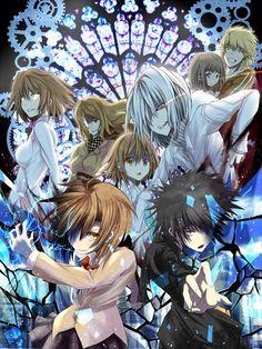 Touma, Misaka, Accelerator, Last Order, Hazamura, Takitsubo, Mugino, and Misaka Worst