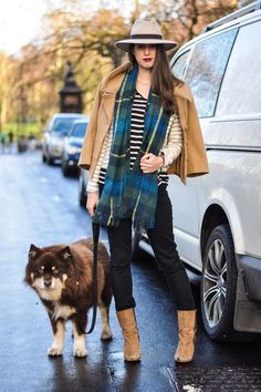 Stripes and plaid for winter
