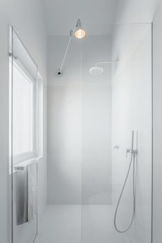 Minimalist White Bathroom Interior – Atelier Data design, Portugal