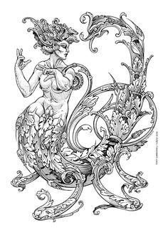 Zodiac Scorpio, #Dibujos e  #Illustrations de Tony Carbonell #Cadiz