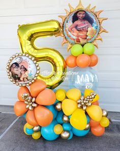 Birthday Balloon Decorations, Diy Party Decorations, Birthday Balloons, Handmade Decorations, Balloon Arrangements, Balloon Centerpieces, Baptism Centerpieces, Large Balloons, Custom Balloons