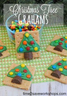 Christmas Tree Grahams