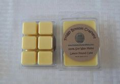 Lemon Pound Cake Soy Wax Melts Pure Soy by FroggyBottomCrafters, $3.00
