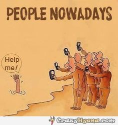 People Nowadays #bystander #effect #cellphone