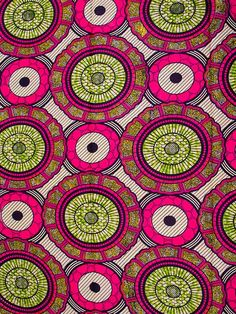 6 Yards Cotton African Fabric Super Deluxe Wax Print sw806011