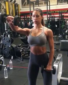 "2,272 Likes, 21 Comments - Female Workout Videos (@_workoutvideos) on Instagram: ""Start your 2018 with a shoulder workout to sculpt that upper body . . Credit @karinaelle . ."""